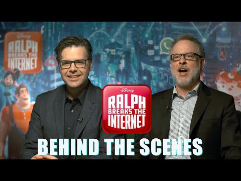 Ralph Breaks The Internet - Interview with directors Rich Moore & Phil Johnston