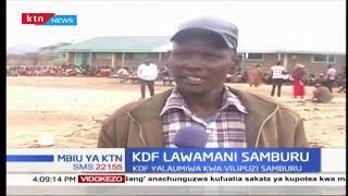 KDF yajipata lawamani Samburu kutokana na vilipuzi