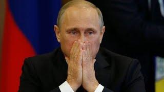 Моментальная реакция опоздавшего Путина на Гимн СССР