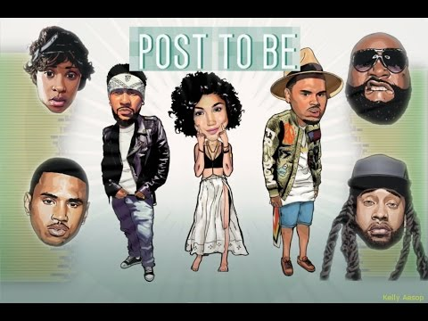 Post To Be MEGAMIX + Lyrics (ft. Chris Brown Ty Dolla Sign Rick Ross Trey Songz Dej Loaf & MORE)