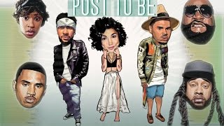 Post To Be MEGAMIX + Lyrics (ft. Chris Brown Ty Dolla Sign Rick Ross Trey Songz Dej Loaf & MORE)