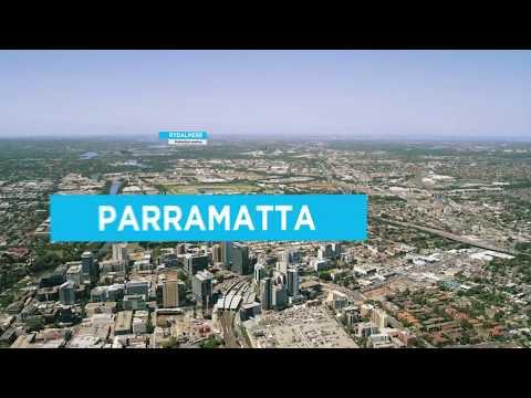 Sydney Metro West Aerial