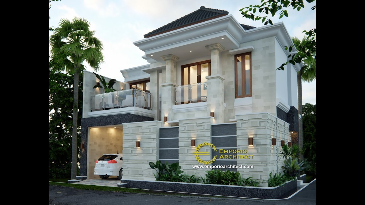 Video 3D Mr. Taufik Arsa Villa Bali House 2 Floors Design - Mamuju, Sulawesi Barat