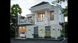 Video Mr. Taufik Arsa Villa Bali House 2 Floors Design - Mamuju, Sulawesi Barat