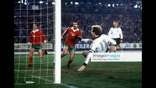 Karl-Heinz Rummenigge Vs Bulgaria | 1982 World Cup Qualification | All Touches & Actions