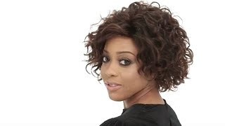Whitney By Vivica Fox | Curly Human Hair Wig For Black Women