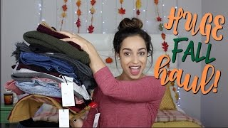 HUGE Fall Clothing Haul! (Forever 21, Cole Haan, Target, & More!!)