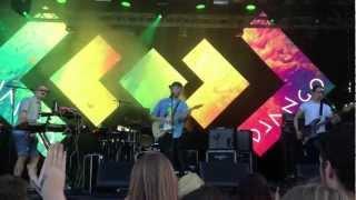 Django Django - Introduction, Hail Bop (live at Field Day 2013)