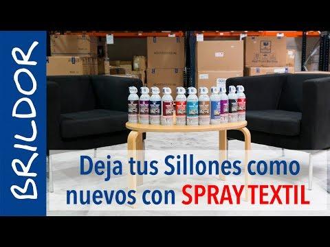 Pintura para tela de tapicer a en spray brildor - Como limpiar tapiceria sillas ...