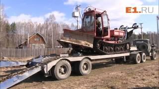 Тренировка по тушению лесного пожара под Екатеринбургом