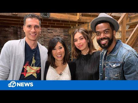 Interview with 'Hamilton' stars Julius Thomas and Julia Harriman
