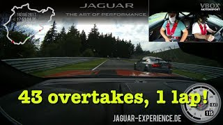RUSH HOUR: 43 overtakes in ONE lap of the Nürburgring Nordschleife!