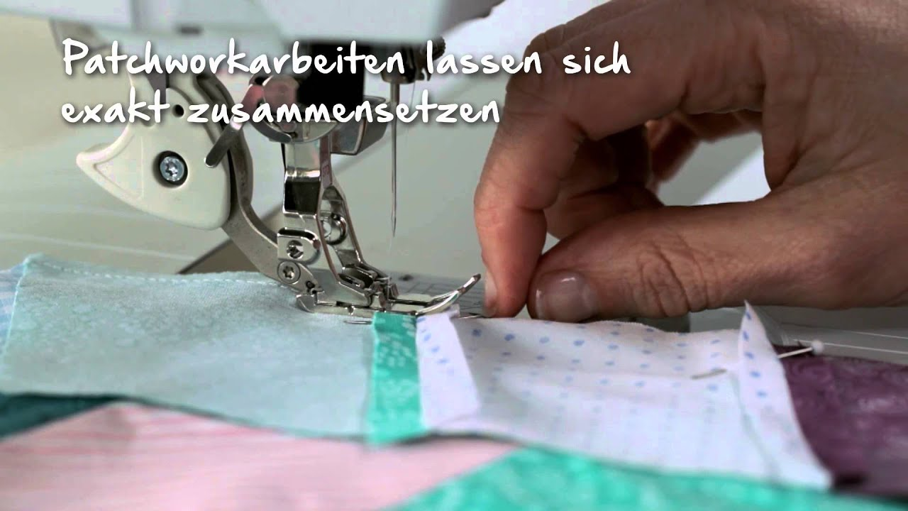 BERNINA 790 PLUS: Nähen mit Dual Transport