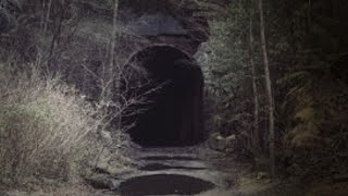 (HAUNTED TUNNEL) Abandoned in the Middle of the Tennessee Mountains