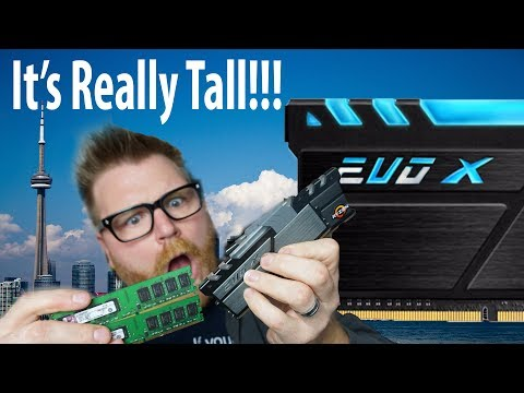 GeIL Evo X Ryzen Branded RGB DDR4 Review – IT'S TALL!