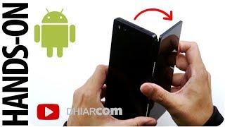 Android 2 Layar Lipat! Pertama di Indonesia!