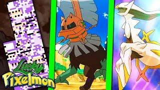 Type: Null  - (Pokémon) - Minecraft Lucky Pixelmon - O NOVO MISSINGNO ?! TYPE: NULL vs ARCEUS ! O POKÉMON MUTANTE !!