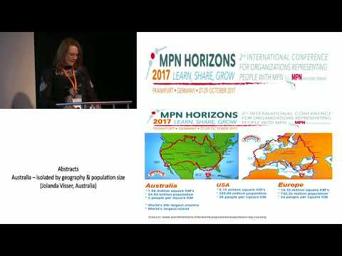 Australia – isolated by geography & population size- MPN Horizons 2017