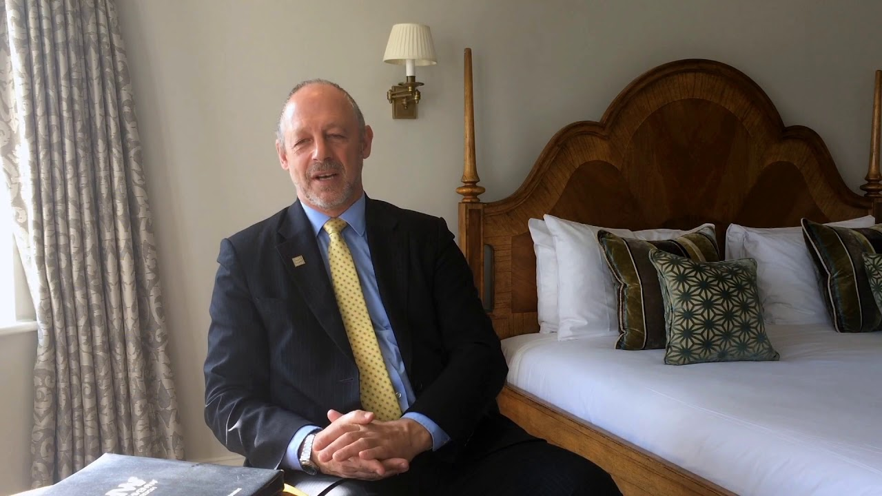 Changing students' perception of hospitality: Edge Hotel School principal Andrew Boer