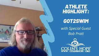 Got2Swim Athlete Highlight – Bob Pratt