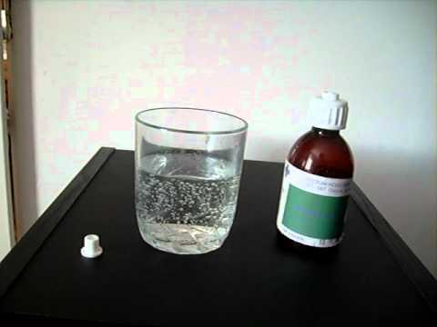 Hellebore wody z alkoholem przedawkowania