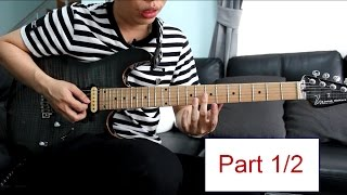 How to play : Forsaken - Dream Theater Lesson Part 1/2 by Nut