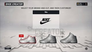 NBA 2K17 How To Get Custom Shoe