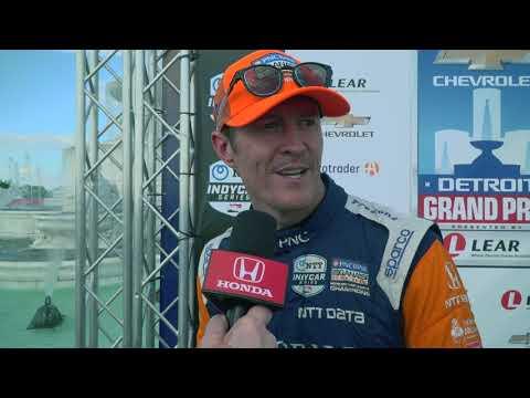 2019 IndyCar Detroit GP Race 2 - Honda Highlights