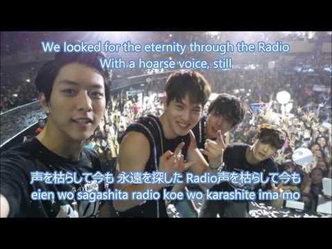 CnBlue-Radio Lyrics (English translation, Romanization & Japanese)