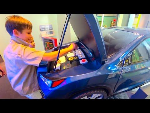 ВЛОГ Детский музей науки в Лас Вегас и рум тур в Белагё