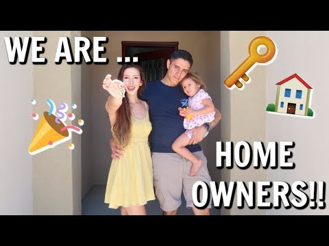 GETTING THE KEYS TO OUR BRAND NEW HOUSE!
