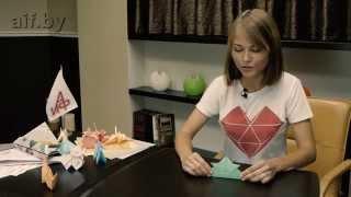 Оригами. Панама из бумаги.
