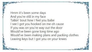 Chanté Moore - You Can't Leave Me Lyrics