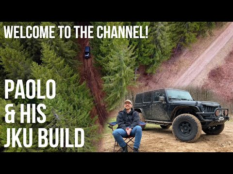 Welcome Paolo & His Jeep Wrangler JKU Build To The Channel!