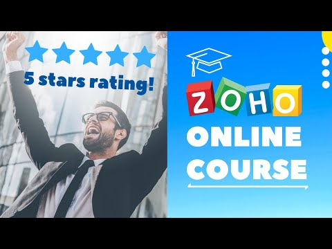 Zoho CRM Online Course - YouTube