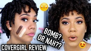 NEW COVERGIRL MATTE FOUNDATION REVIEW!