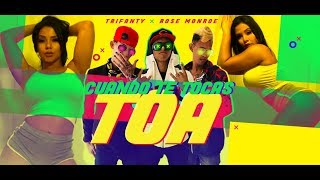 Cuando te tocas toa - TriFanty Feat. Rose Monroe (Official Video)