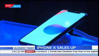 Mobile phone distributors experience bumper sale of iPhone X
