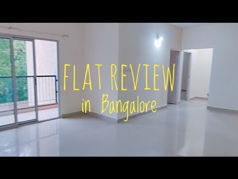 Flats in Bangalore | Review - Area, Cost, Facilities and more.