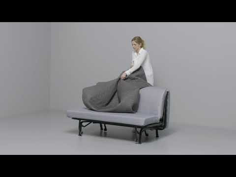 IKEA - LYCKSELE: Anleitung vom 2-er Sofa zum Bett