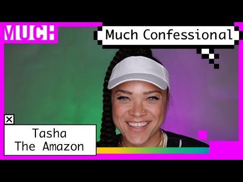Tasha The Amazon Dropped More Than a Mixtape in Pusha T's Green Room