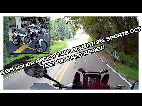 2019 Honda Africa Twin Adventure Sports in Concord, New Hampshire - Video 1