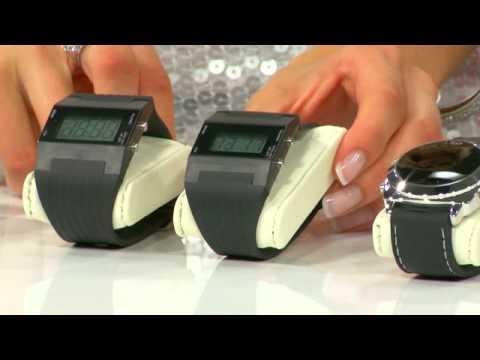St. Leonhard Retro-moderne Digital-Armbanduhr mit LED-Technik