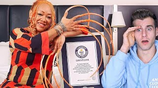 Meet The Girl With The Longest Nails In The World