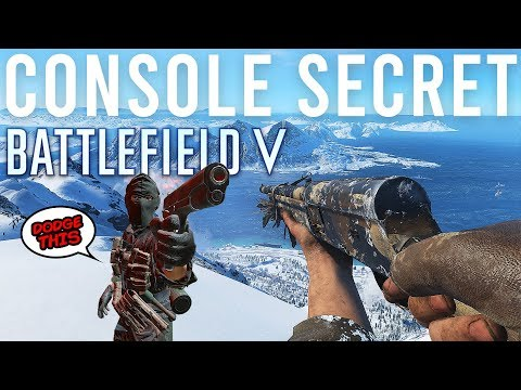 I've cracked the Console Secret in Battlefield V