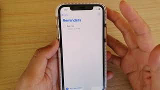 IOS 13: How To Set A Reminder Alarm On IPhone 11 Pro