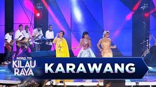 Gambar cover Digoyang! Jenita , Siti Badriah dan Poppy Capella [KONCO MESRA] - Road to Kilau Raya (18/3)