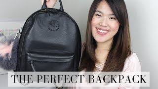 THE PERFECT BACKPACK | TORY BURCH LEATHER BACKPACK