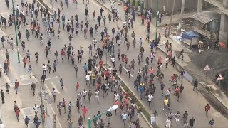Protesters March In Addis Ababa After Ethiopian Singer Shot Dead | AFP