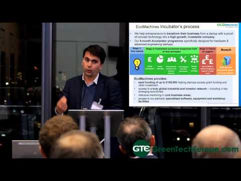 London Cleantech Cluster Incubators: EcoMachines - 21st November 2013